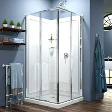 aqua glass shower showers aqua glass corner shower kit x corner shower doors with aqua glass