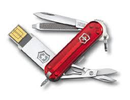 <b>Нож</b>-<b>брелок</b> Victorinox Midnight <b>Manager</b>@work, USB 16 Гб, <b>58 мм</b> ...