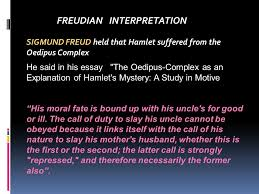 character of hamlet ppt video online  12 freudian interpretation