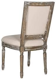 buchanan 19 h french brasserie linen side chair fox6229g set2 dining chairs