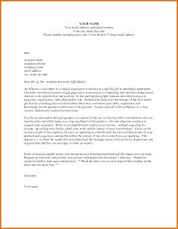 Letter Of Interest For Job Letter Format Business