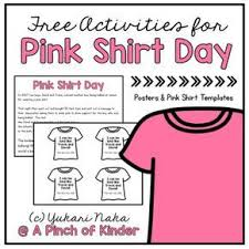 Pink shirt day, be a buddy not a bully, anti bullying shirt, kindness matters shirt, be kind pink shirt, stop bullying shirt, be kind shirt pinkmermaiddesigns. Free Activities For Pink Shirt Day Pink Shirt Bullying Activities Bullying Lessons