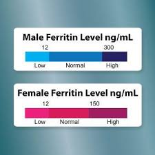 Ferritin Level Chart Anemia Pin On Autoimmune Disorders