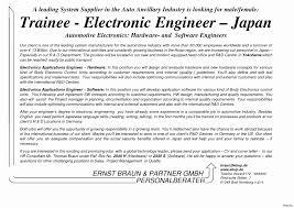 Sample Cover Letter For Mechanical Engineer Fresher Best Of Senior