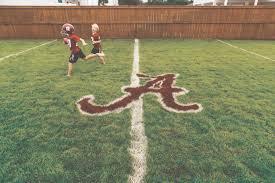 Backyard Football Field Party Perfect Great Idea For A Super Image Football Field In Backyard