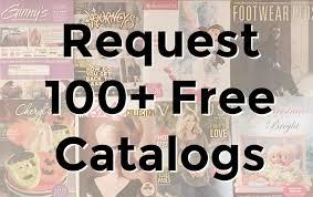 request 100 free catalogs