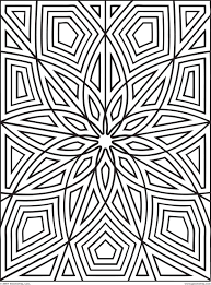 Difficult Geometric Design Coloring Pages Rectangles Page 2 Of 2