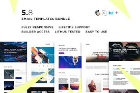 Save Email Template 5 Email Templates Bundle Viii Check Great Save Money