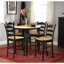 Overstock Living Room Furniture Simple Living Round Counter Height 5 Piece Dining Set Free