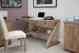 stylish home office furniture. Stylish Oak Computer Desks For Home Small Z Shape Desk Office Furniture