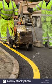 road marking in uk road engineering people health and safety double yellow lines