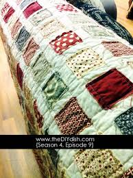 How to Make an Easy Quilt! Â« The DIY Dish & Have a wonderful week everyone! If you try this project out, we'd love to  see your photos! Be sure to post to our Facebook page and join the  conversation. Adamdwight.com