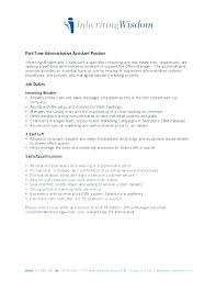 Duties Of Administrative Assistant Adorable Office Administrator Job Description Template Cvs Administrative