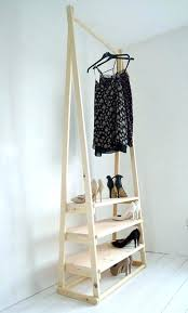 diy clothing rack clothes rack clothes rack awesome handmade natural wood clothes rack clothes rail with