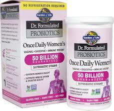 dr formulated probiotics once daily women s 50 billion