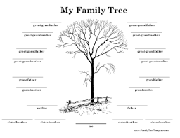 family tree layout 4 generation family trees