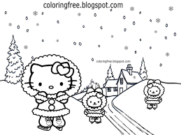 ⭐ free printable hello kitty coloring book. Free Coloring Pages Printable Pictures To Color Kids Drawing Ideas Cute Hello Kitty Christmas Printable Girls Pretty Coloring Pictures