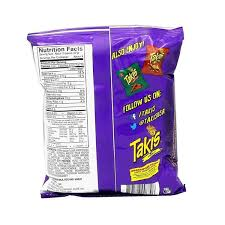takis fuego hot chili pepper lime tortilla chips prev next description nutrition facts ings