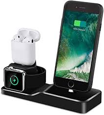 Приходите к нам на aliexpress, у нас вы найдете все! Amazon Com Charging Stand For Apple Watch Tendak 3 In 1 Silicone Charging Dock Station For Airpods 38mm And 44mm Apple Watch Series 1 2 3 4 Iphone X 8 8 Plus 7 7 Plus 6s 5s