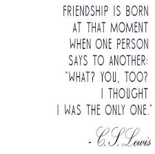Cs Lewis Quote About Friendship 100 Cs Lewis Quote About Friendship Love and Life QuotesBae 42
