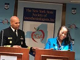 "Art Fougner on Twitter: ""#NYSSA President Dr Vilma Joseph introduces  @Surgeon_General Dr Jerome Adams #HOD… """