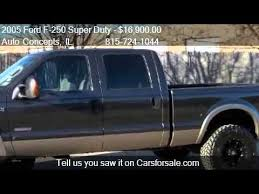 2005 Ford F-250 Super Duty Lariat 4dr Crew Cab Lifted 4WD SB - YouTube