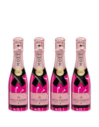 moët chandon rosé impérial flamingo mini set moët chandon chagne or send as a gift reservebar
