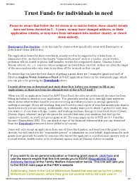 List Of Charities For People In Need Pdf Charitable Organization