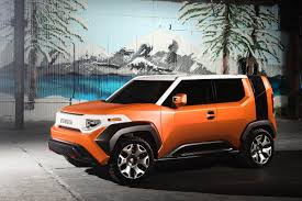 The new Toyota FT-4X Concept is always ready for an adventure