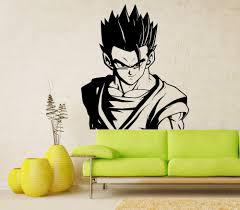 wall decal dragon ball z dbz anime wall art manga sticker