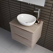 bathroom countertop basin cabinets. image is loading modern-oak-effect-wall-hung-bathroom-storage-vanity- bathroom countertop basin cabinets