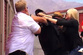 9 a brawl once broke out on set