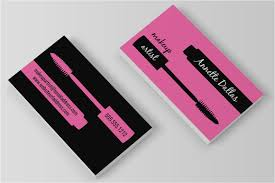 makeup business cards free attractive makeup business cards templates free large