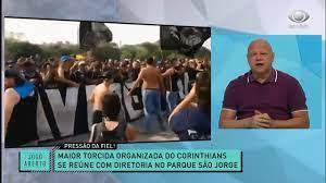 JOGO ABERTO COMENTA CONVERSA ENTRE TORCIDA E DIRETORIA DO CORINTHIANS