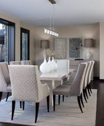 Dining Room:Modern White And Grey Formal Dining Room Design Ideas Modern  and sleek gray