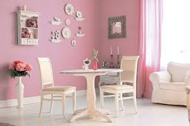 pink paint colour walls and rooms