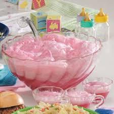RockABye Baby Punch Recipe  Taste Of HomePunch For Girl Baby Shower