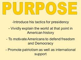 the jfk inaugural address ppt video online  4 purpose