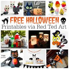 Access free halloween coloring pages right here! Free Halloween Printables For Adults Kids Red Ted Art Make Crafting With Kids Easy Fun