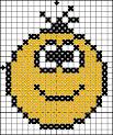 Вышивка крестом схема смайлика