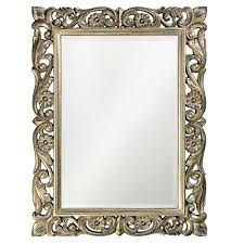 decorative bathroom mirror rectangle. The Howard Elliott Collection 41 In. X 31 Aged Silver Leaf Rectangle Framed Decorative Bathroom Mirror