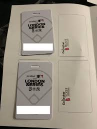 O₂ universum o₂ arena novinky dárková poukázka collector ticket podpora. My Tickets For The London Series Has Arrived Redsox