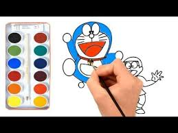 Try on blonde hair color shades, red hair color, or even vibrant hair color with our new 3d technology! How To Draw And Color Nobita And Doraemon Learn Colors For Kids Afk Learning Colors Coloring For Kids Art For Kids