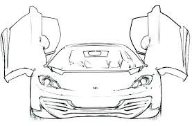 Ferrari Coloring Pages To Print Download Free Printable And Coloring
