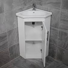 corner vanity basin sink unit rak series 600 compact toilet cloakroom ensuite