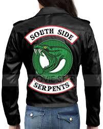 riverdale vanessa morgan serpents leather jacket