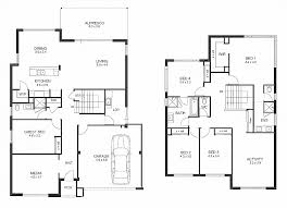 Two Story Bedroom House Floor Plans In Kerala Double Storey Designs Perth  Apg Homes Also Simple