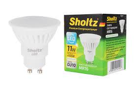 <b>Лампа светодиодная</b>, <b>SHOLTZ</b>, керамика MR16 11Вт GU10 ...