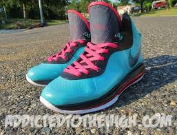 lebron 8 south beach. take a look at the detailed images after jump and let us know, \u0027south beach\u0027 v1 or v2; which one takes it? tags; nike · lebron 8 v2 lebron south beach