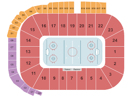 Compton Family Ice Arena Seating Chart Buy Michigan Wolverines Hockey Tickets Front Row Seats